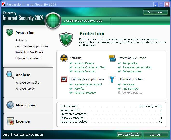 Kaspersky Internet Security 2009 [phoenix tk] preview 0