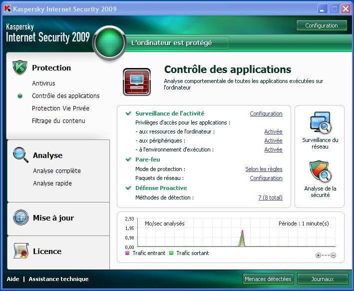 Kaspersky Internet Security 2009 [phoenix tk] preview 1