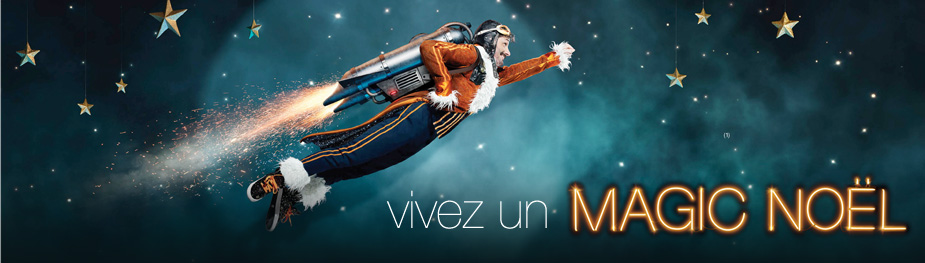 Vivez un magic noel avec Orange
