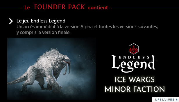 Endless Legend Founder Pack