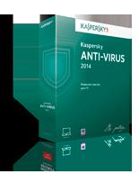 Caja Kaspersky Antivirus 2014