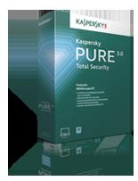 Caja Kaspersky PURE 3.0