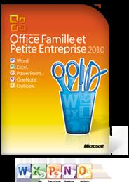 Microsoft office famille et pme 2010 - Cle activation office 2010 famille et petite entreprise ...